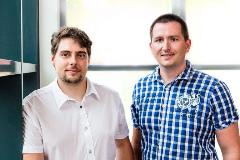 Feso-Gründer Johannes Schöllhorn und Patrick Hühne